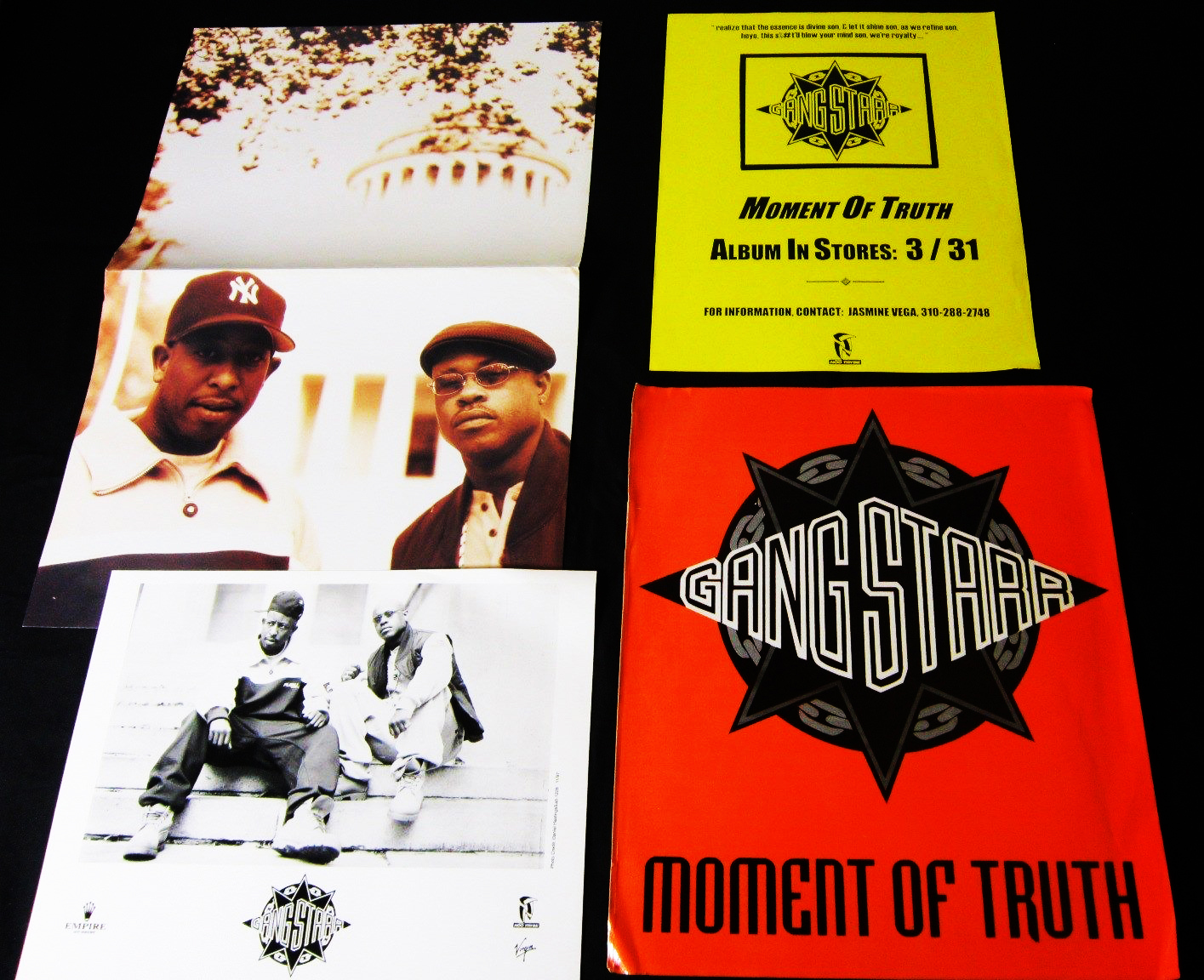 Gang Starr Moment of Truth Press Kit 1998