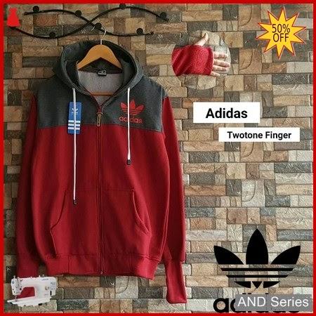AND166 Jaket Pria Hoodie Jaket Adidas Twotone BMGShop