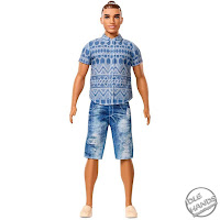 Mattel Barbie Ken Fashionistas Dolls 2017
