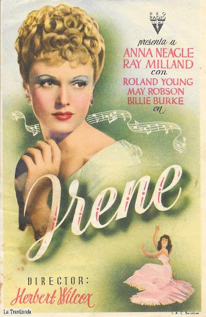 Programa de Cine - Irene - Anna Neagle - Ray Milland