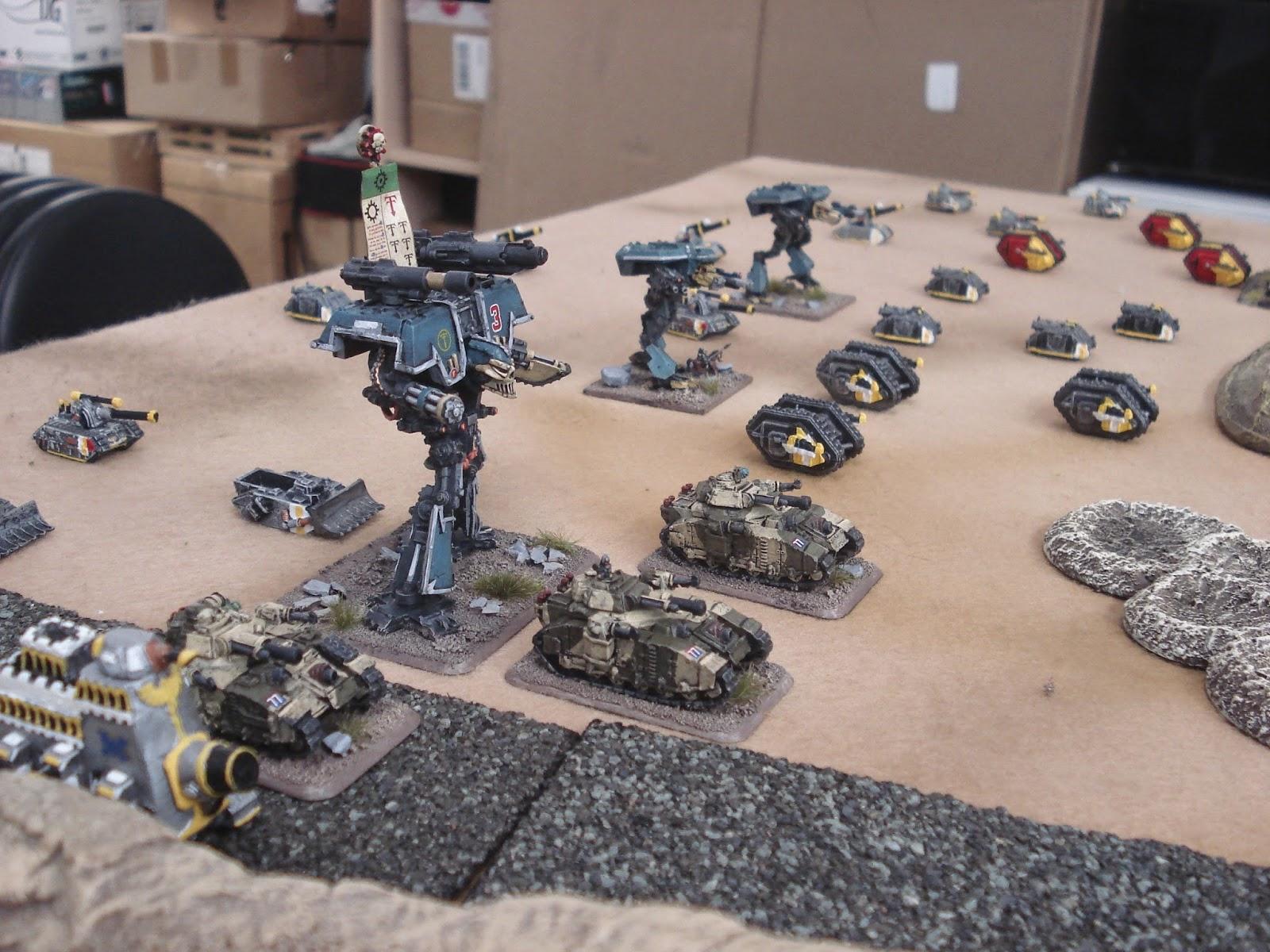 Broke Low: Flames of 40k (Orks vs Imperial Guard)