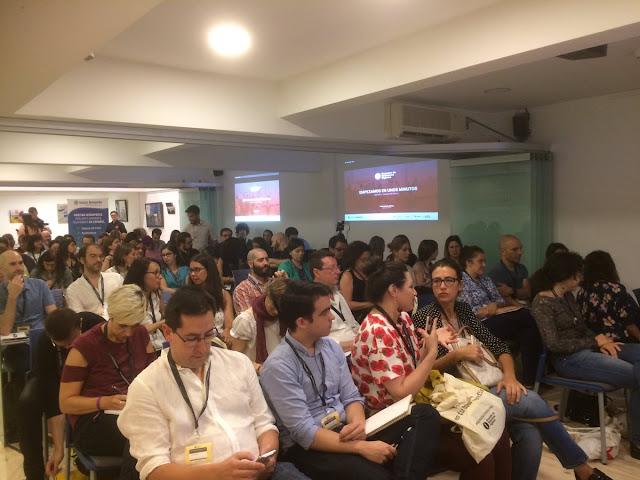 Foto encuentro redactores digitales madrid