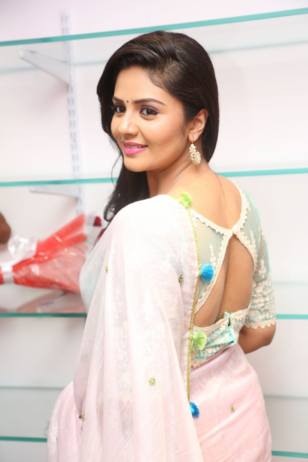 Srimukhi at Manvis launch event-HQ-Photo-14