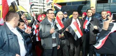 الجاليات المصرية فى الخارج
