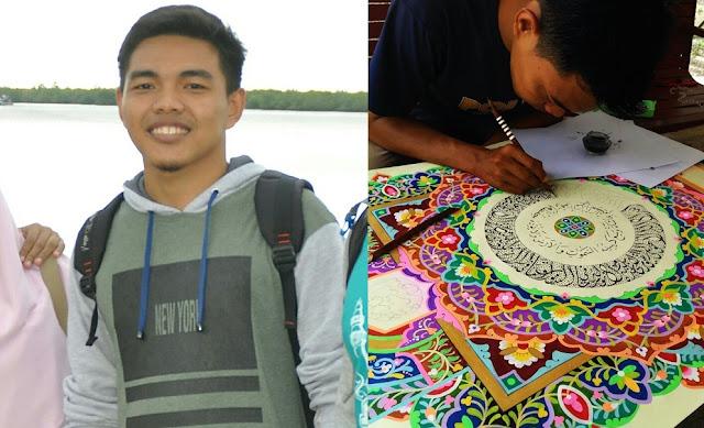 Kaligrafer Aceh Selatan Ini Ternyata Alumni Darul Aitami
