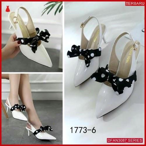 DFAN3087S128 Sepatu F08 High Hils Wanita Sepatu Flat BMGShop