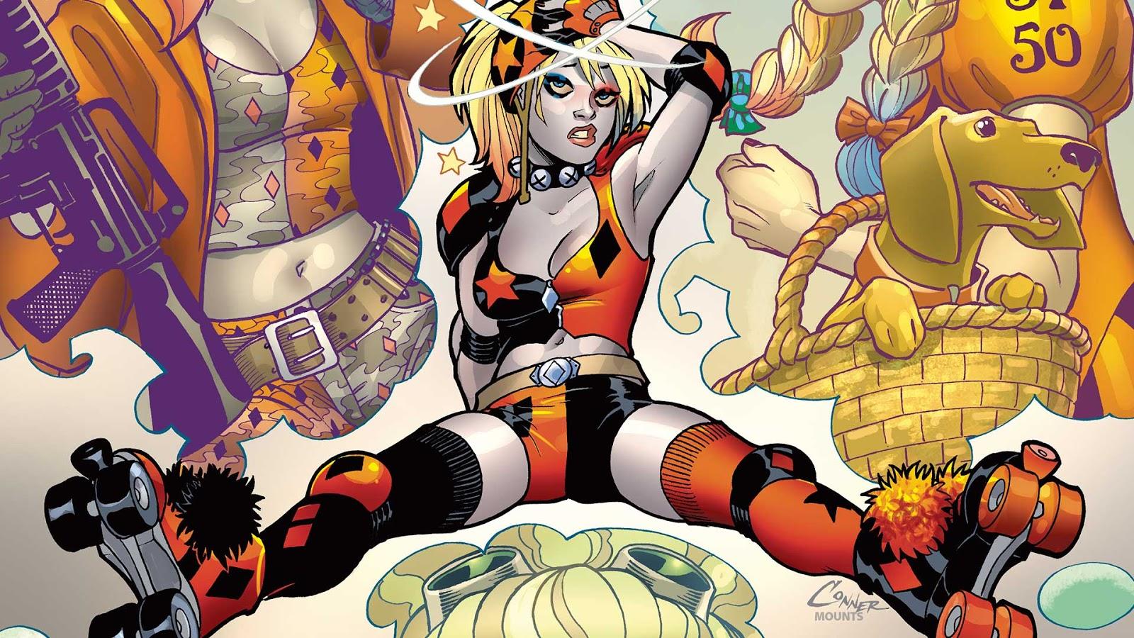 Gotham Girls Derby Wallpaper Weird Science Dc Comics Preview Harley Quinn 9