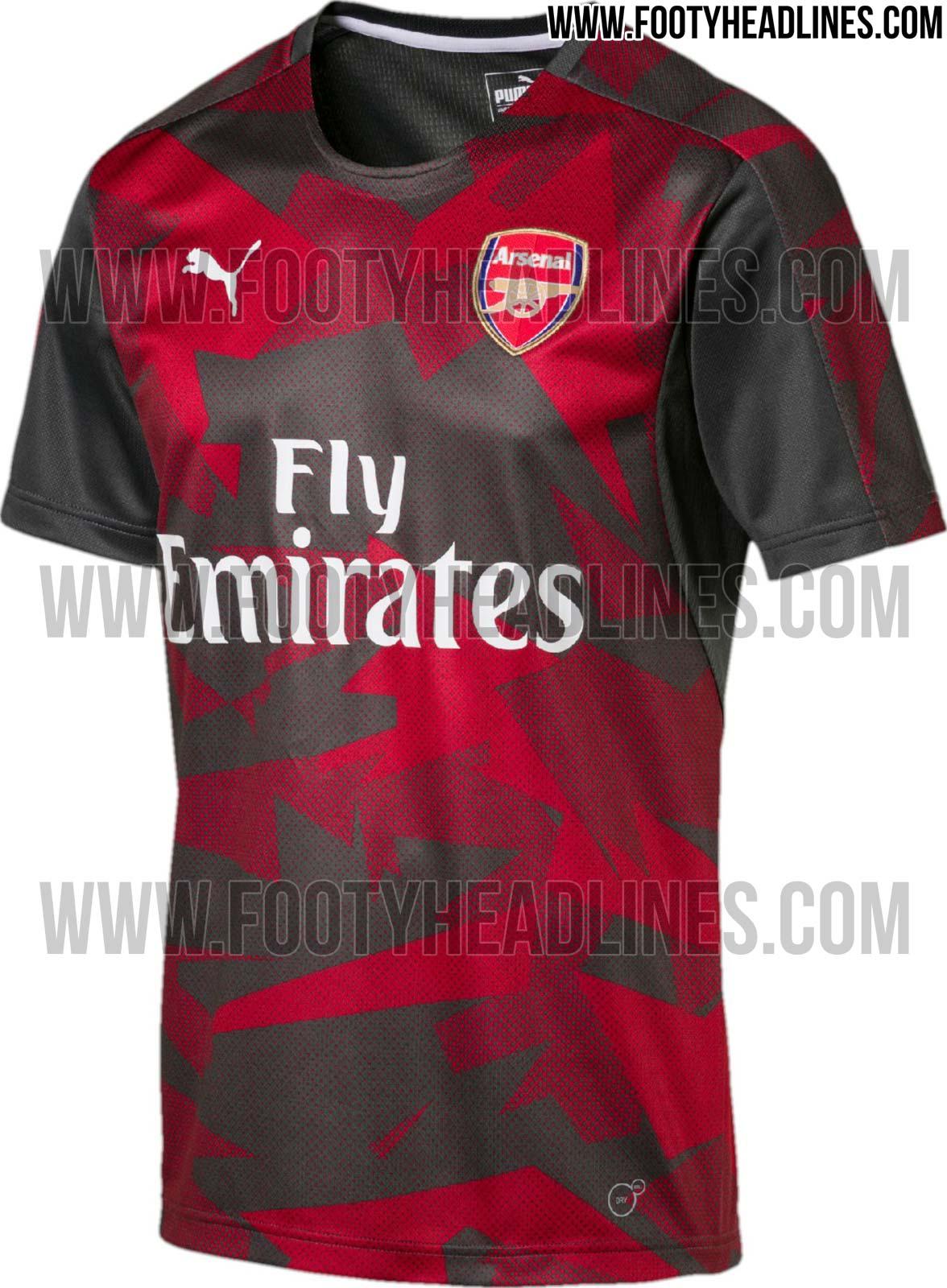 Arsenal 17-18 Pre-Match Shirt (Home)