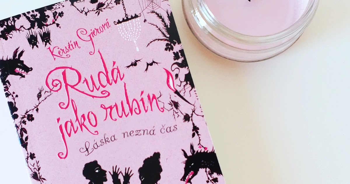 Kniha Rudá jako rubín (Kerstin Gier)