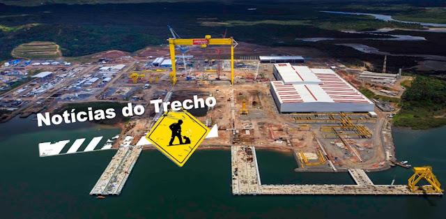 Resultado de imagem para EMPREGOS: Estaleiro na Bahia faz apresentação de construção das Corvetas