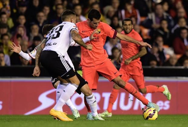 Semifinal Copa del Rey Barcelona vs Valencia
