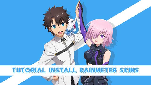 Tutorial Install Rainmeter Skin