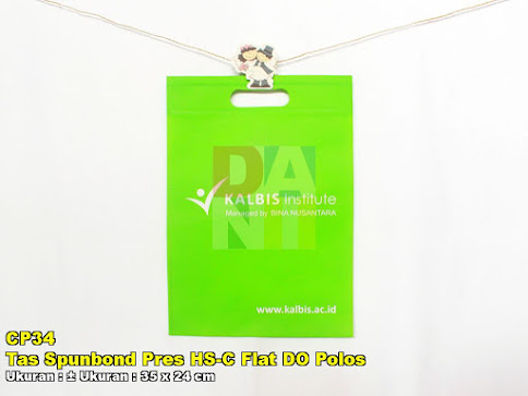 Tas Spunbond Pres HS-C Flat DO Polos