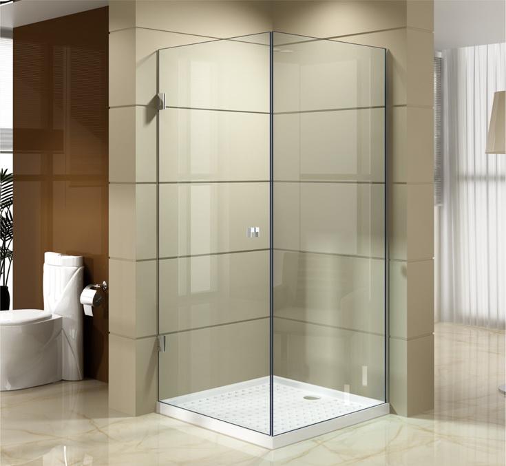 European Style Pivot Hinge Shower Enclosures Jsw 9931 Frameless Doors