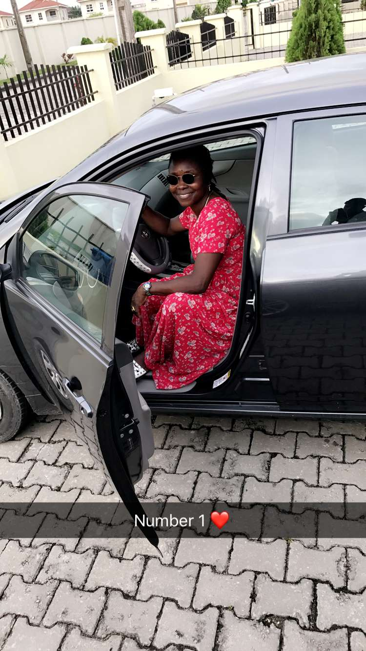 lil Lil Kesh Acquires Brand New Car For His Mom (Photos)