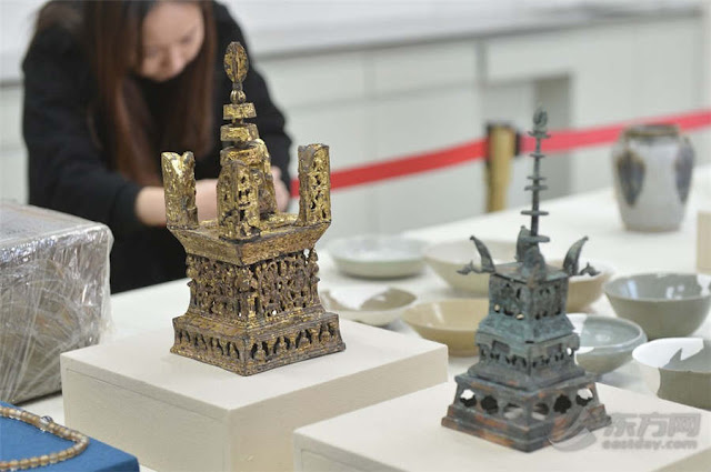 Latest discovery at Shanghai Longping Temple revealed