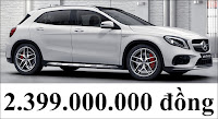Giá xe Mercedes AMG GLA 45 4MATIC 2018