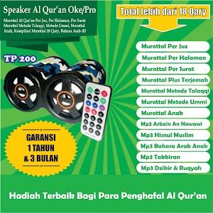 Speaker Al Quran TP 200 8 Giga