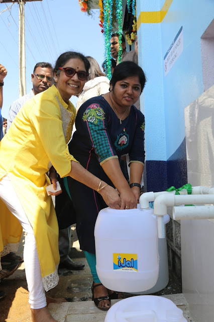 Medak Government partners with Safe Water Network and Honeywell to launch the first safe water station in the district