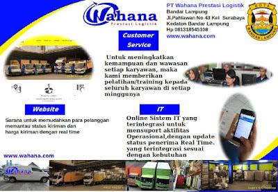Peluang Usaha dan Bisnis Lampung di Perusahaan Expedisi PT. PT Wahana Prestasi Logistik