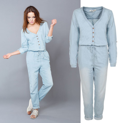 model baju jumpsuit jeans