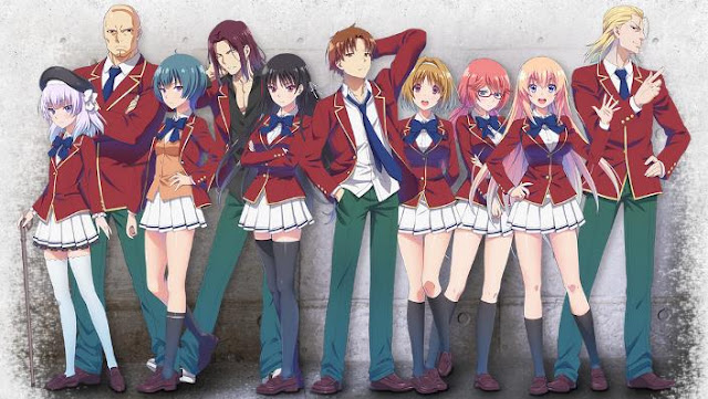 Classroom of the Elite - Anime Romance School 2017 Terbaik