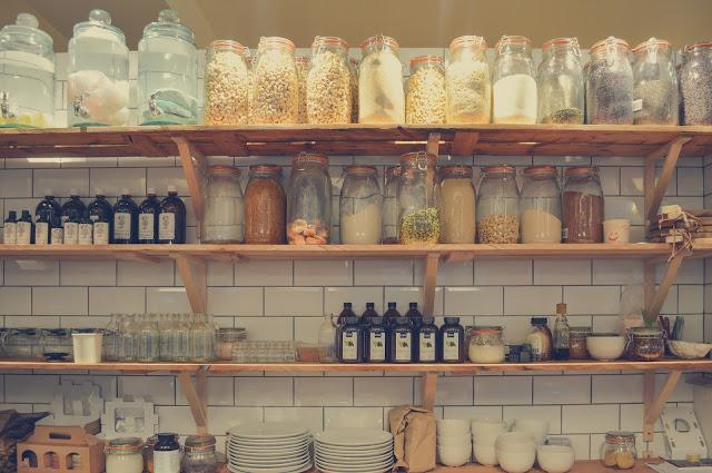 Riciclo barattoli di vetro in cucina