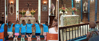 Before and After: Adoration Chapel at Prince of Peace Catholic Church, Greenville, SC