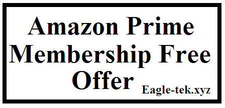 amazon prime membership offer