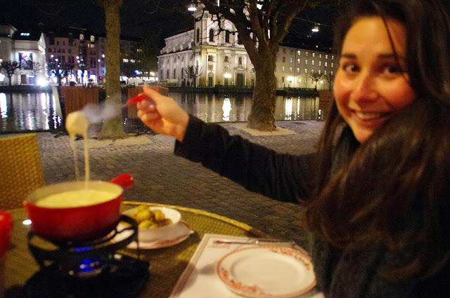 Cheese Fondue Lucerne Switzerland