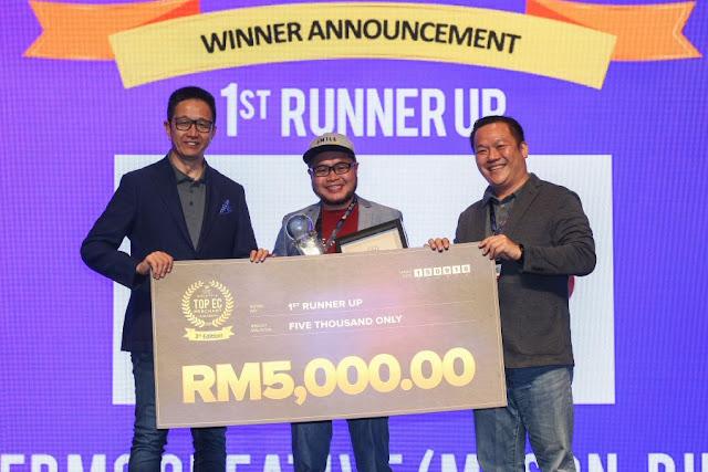 Top ECM 1st Runner-Up - Hermo Creative (M) Sdn Bhd