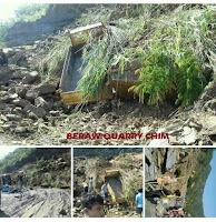 Zemabawk Beraw Lui Quarry chima thi