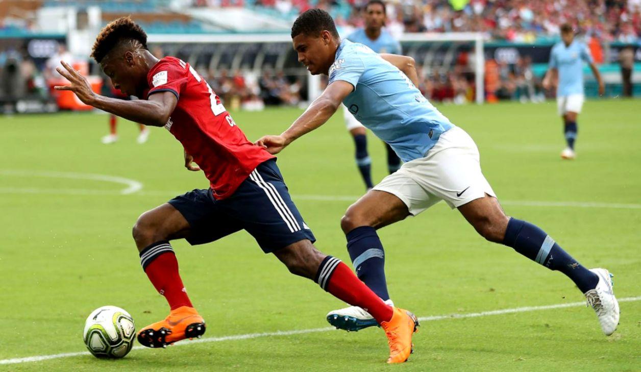 Reds slip to defeat against Man City FC Bayern Munich