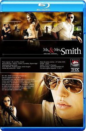 Mr and Mrs Smith BRRip BluRay 720p