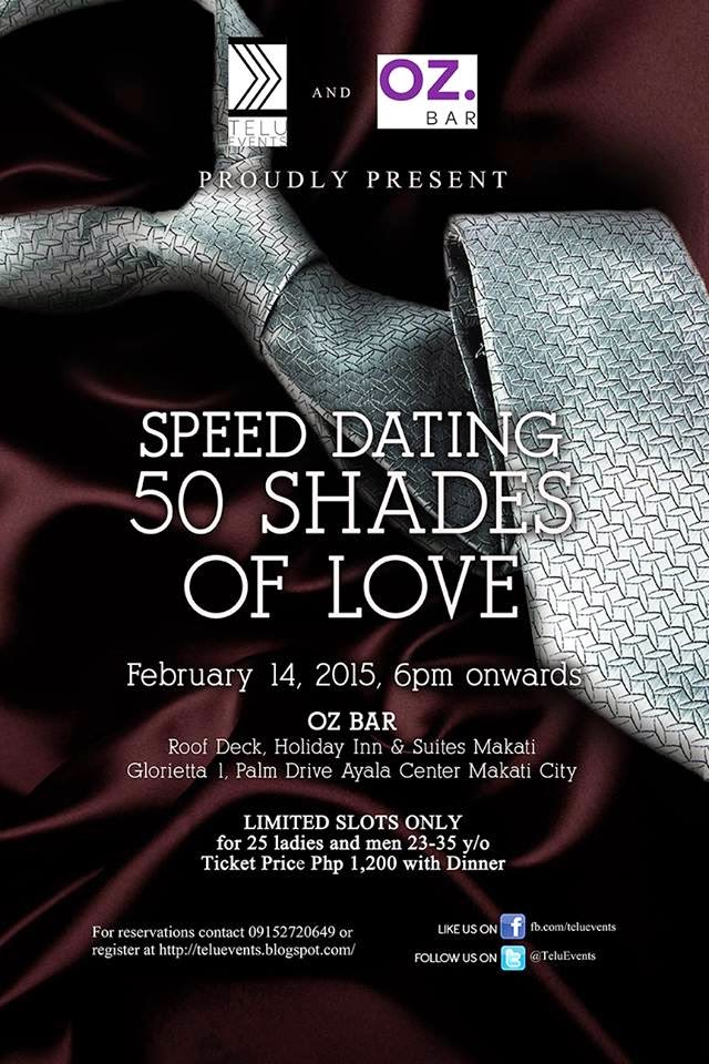Speed dating 50 and over