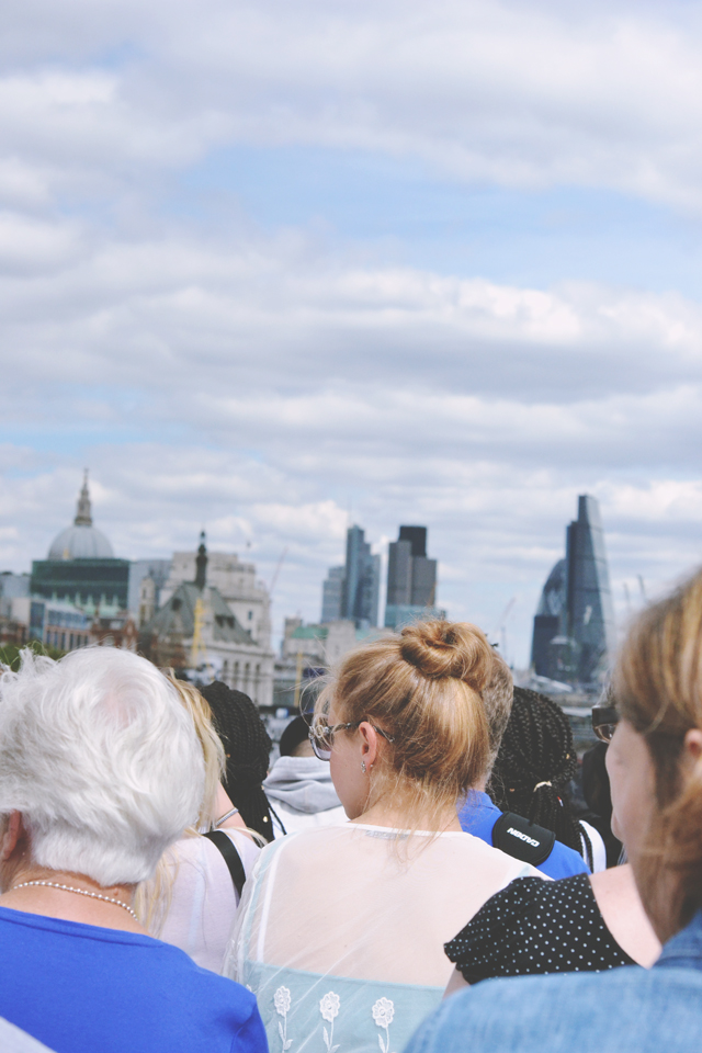 Tourist in London