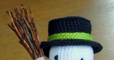 De Haakbaak Cadeautje Nummer 1 Sneeuwpop Patroon