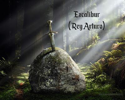 Espada fantástica Excalibur