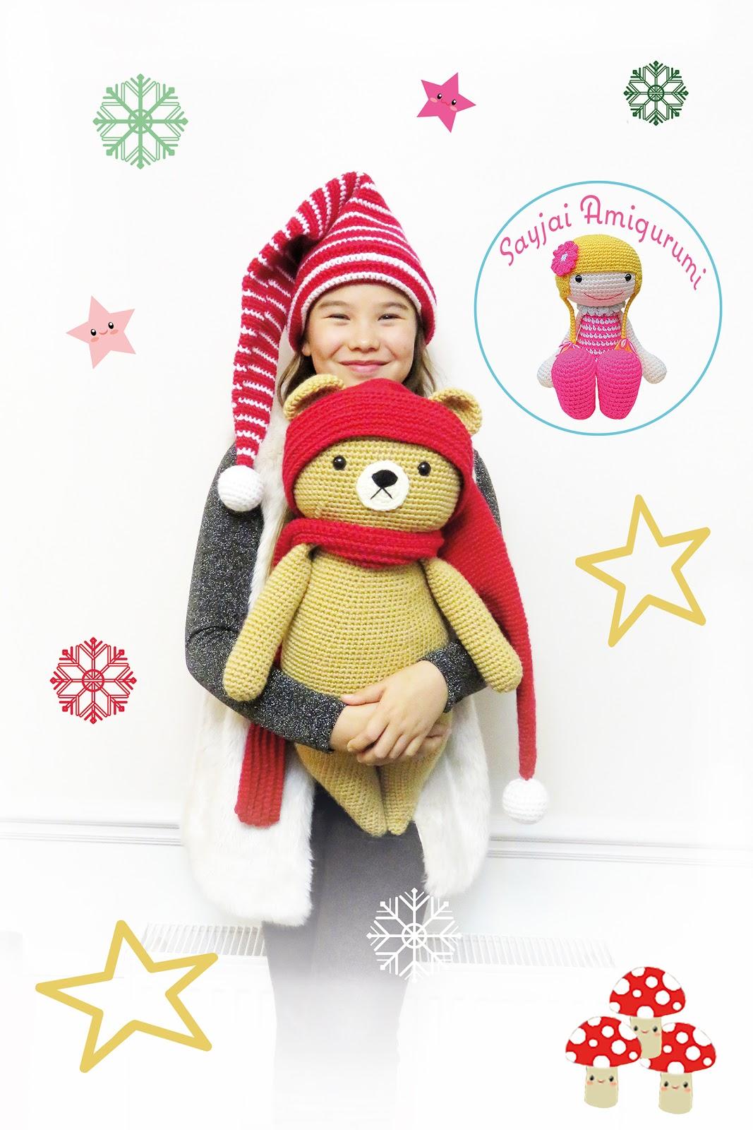Best Amigurumi Bear Free Crochet Patterns - Amigurumi | 1600x1067