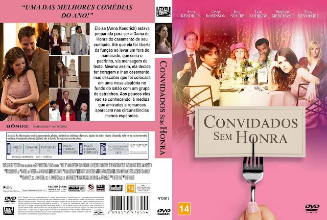 Capa DVD Convidados Sem Honra [Exclusiva]