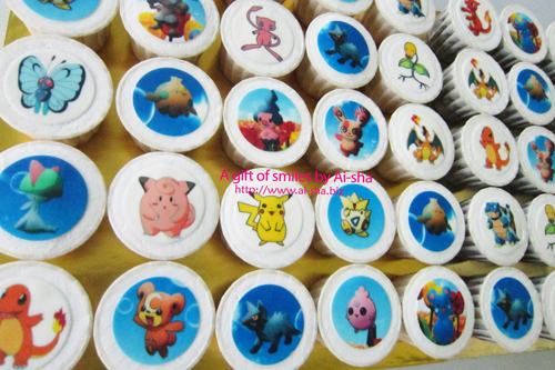 Birthday Cupcake Edible Image Pokemon