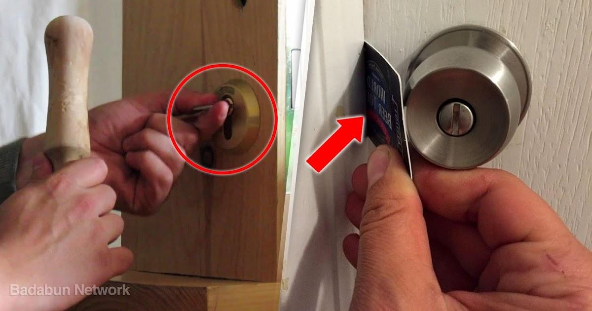Antu network 6 trucos para abrir una puerta sin llaves podr s entrar a cualquier parte - Abrir puerta sin llave clip ...