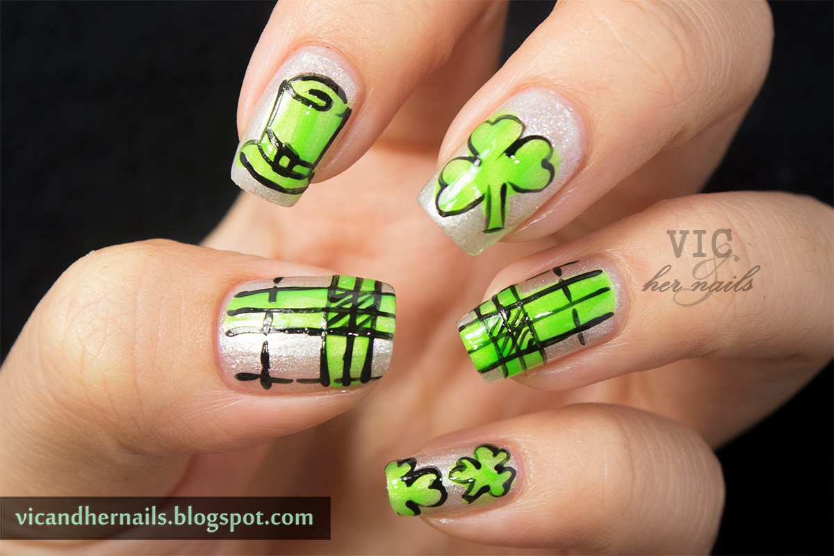 Vic and Her Nails: March N.A.I.L. - Theme 3 - St Patrick's Day