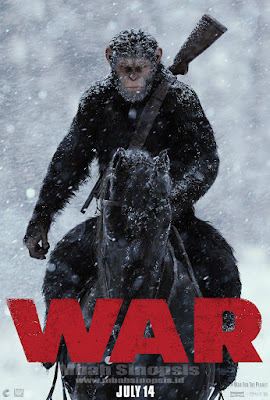 Download Film War For The Planet Of The Apes (2017) Bluray Subtitle Indonesia