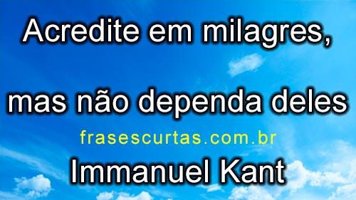 acredite em milagres