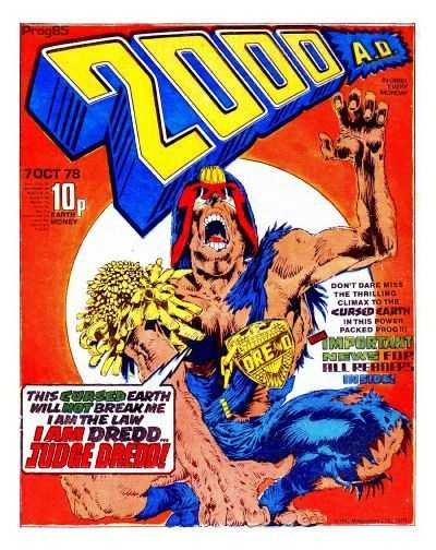 2000 AD, Prog 85, Judge Dredd
