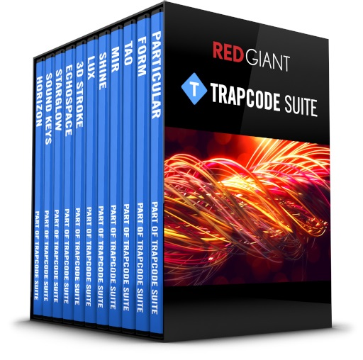 Red Giant Trapcode Suite v13.1.1]