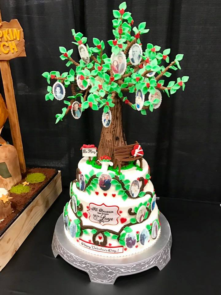 Genea-Musings: #RootsTech 2017 Cake Competition Photographs