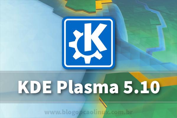 Lançado o KDE Plasma 5.10!