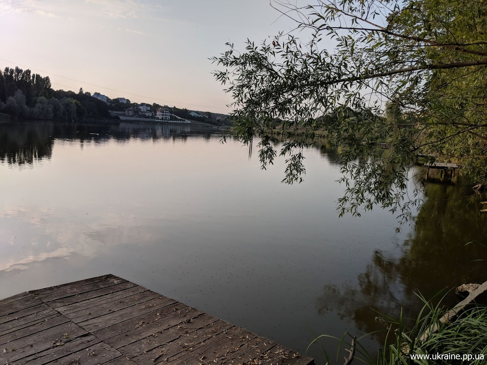 Озеро Очерет в Харькове